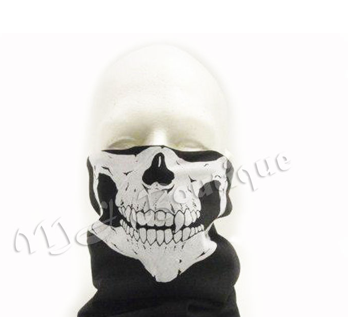 Skeleton Skull BANDANA Snowboard skiing Motorcycle