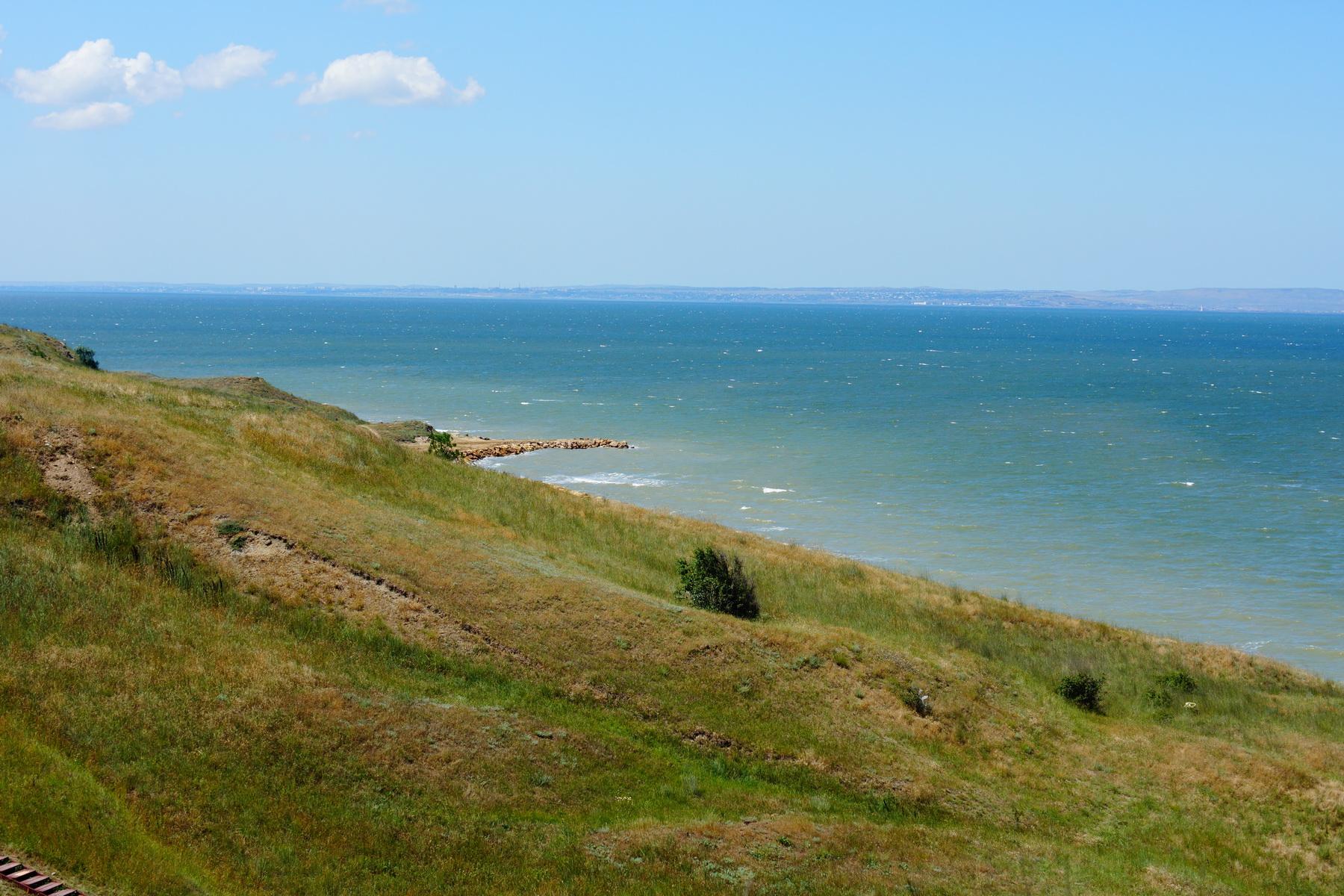 Таманский залив.