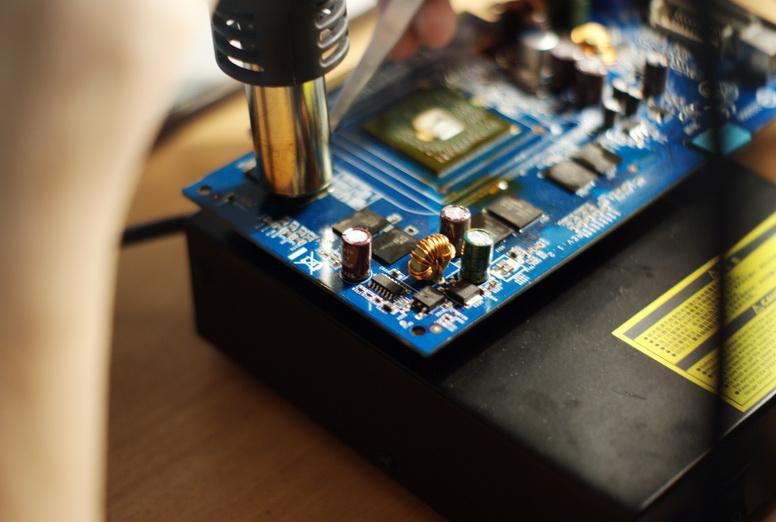 Прогреваем все чипы памяти до единого.