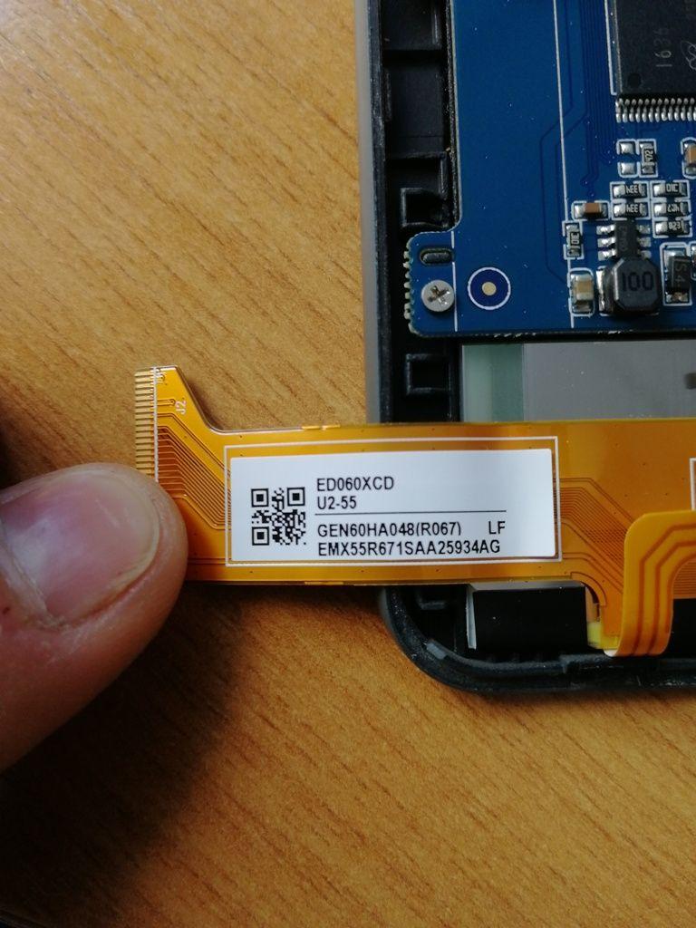Модель экрана ED060XCD