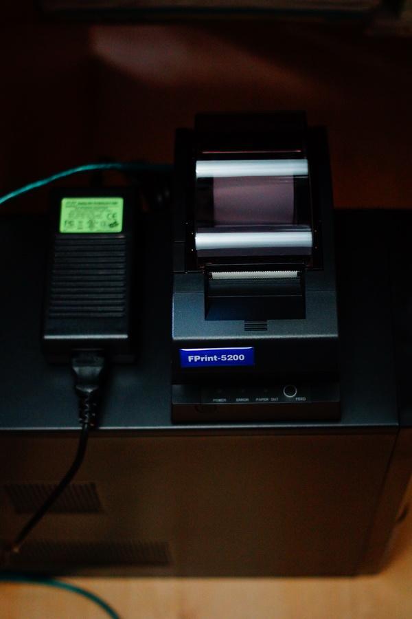 Перевод принтера чеков FPrint-5200 в режим USB
