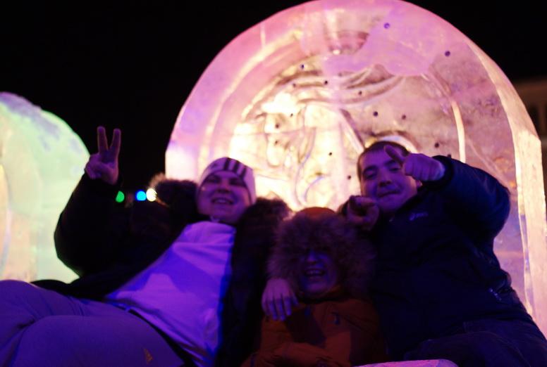 Как прошло празднование Нового Года [Фото]