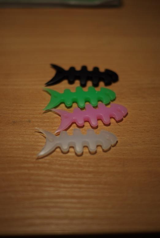 Вот такие вот скелетики рыбок.
